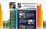 Web del colegio Chesterton (Madrid)
